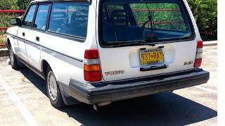 1993 Volvo 240 Restoration Part 1