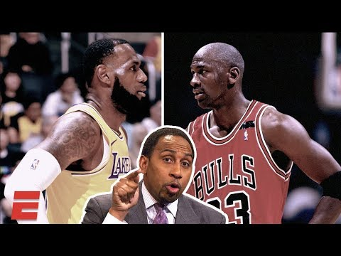 Stephen A. vs. Everybody: Is LeBron or MJ the GOAT?