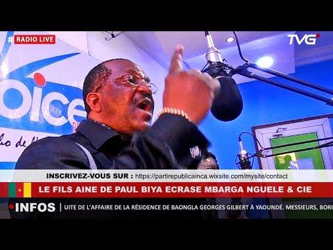 Le fils Aîné du Paul BIYA écrase Martin MBARGA NGUELE & CIE 2.0