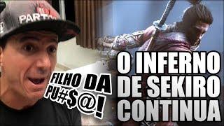 Sekiro Rodrigo SOFRENDO pra Terminar -  PARTE 2