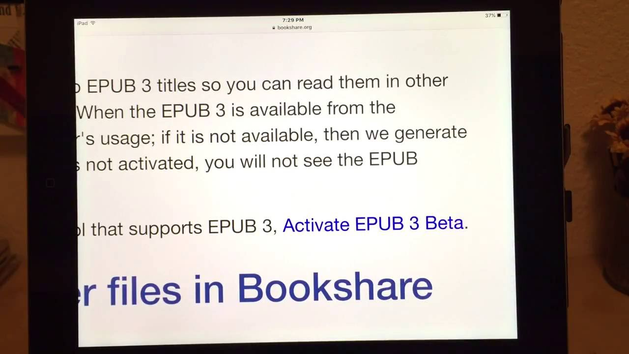 Epub To Ipad Directly