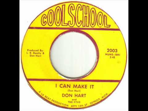 Don Hart and The Fyve - I Can Make It.wmv