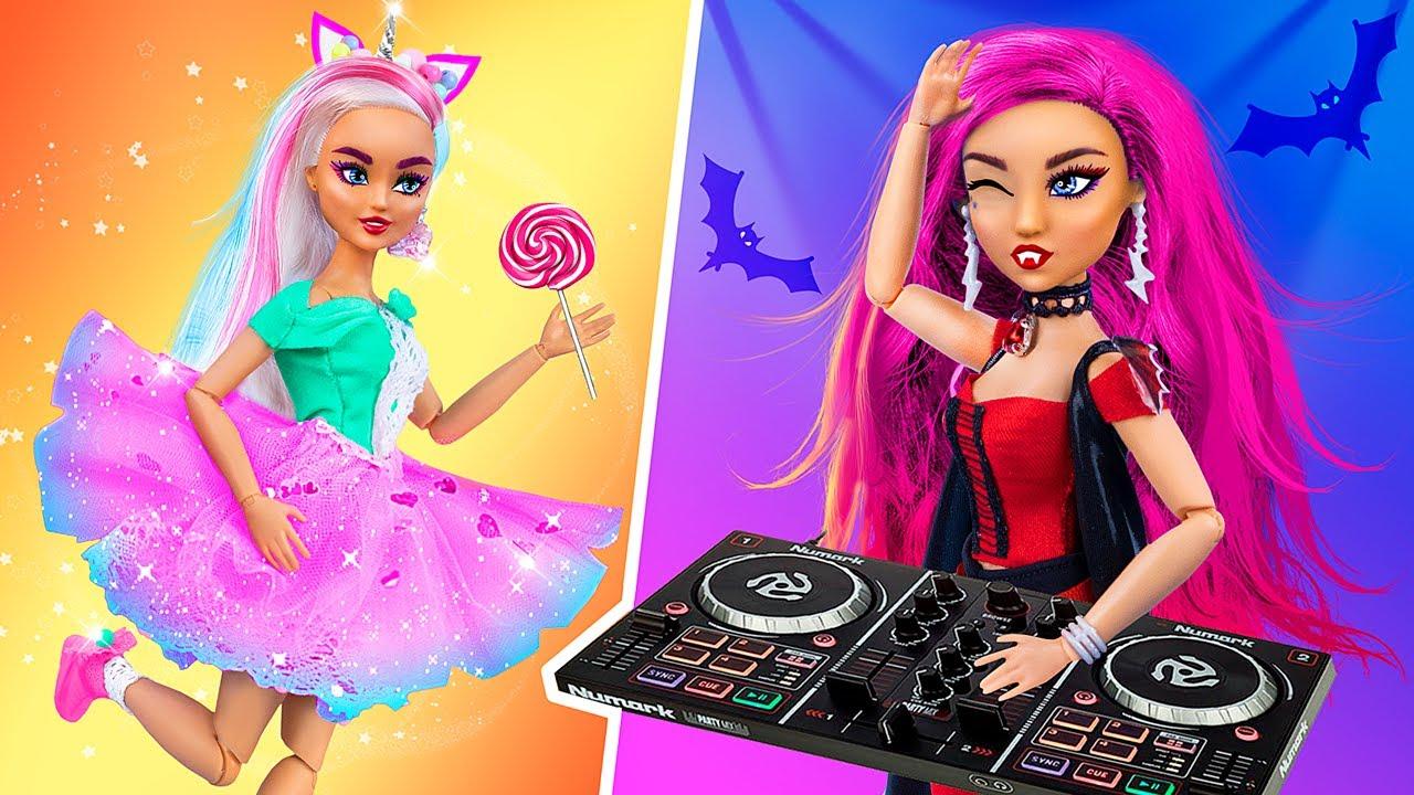 Единорожка vs Вампир / 10 идей для кукол Барби