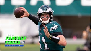 Eagles vs Giants fantasy preview | Fantasy Focus Live!