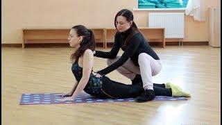 Стретчинг на улучшение гибкости спины и вытяжение позвоночника