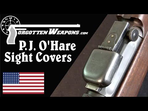 Vintage Match Gear: P.J. O'Hare Sight Covers & Tool