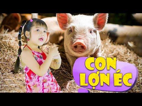 Con Lợn Éc ♪ Bé Minh Vy ♫ Nhạc Thiếu Nhi Cho Bé Vui Nhộn ♪ Nhacpro Kids - Music For Kids