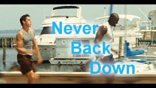 """Never back down (training) тренировка из фильма """"Никогда не сдавайся"""""""