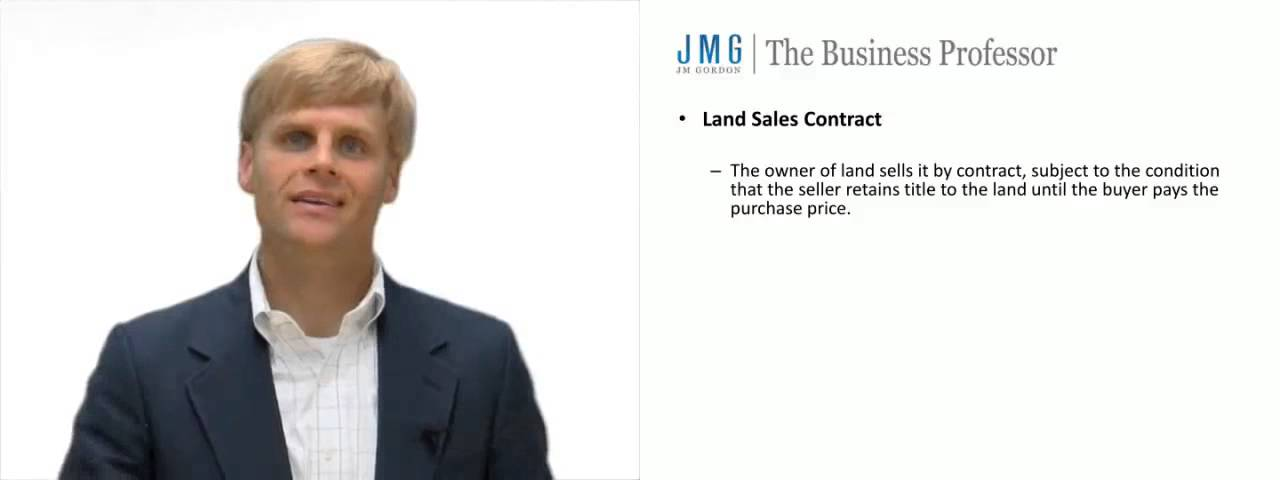 Land Sale Contracts  Youtube
