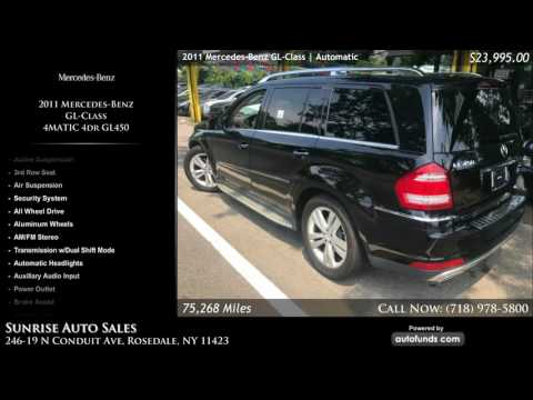 Used 2011 Mercedes-Benz GL-Class | Sunrise Auto Sales, Rosedale, NY - SOLD