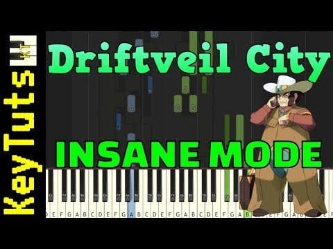 Download Learn to Play Driftveil City from Pokemon Black and White - Insane Mode