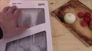 Обзор ножей IKEA 353+