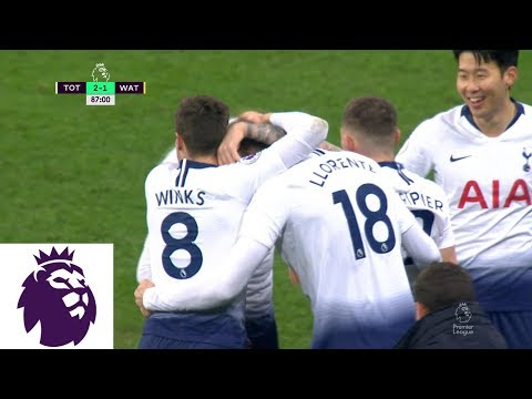 Llorentes header completes Tottenhams comeback v. Watford | Premier League | NBC Sports