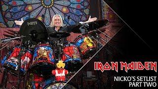 Iron Maiden - Nicko's Setlist, Part 2