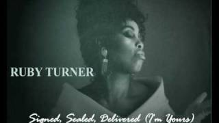 Ruby Turner - Signed Sealed Delivered (I