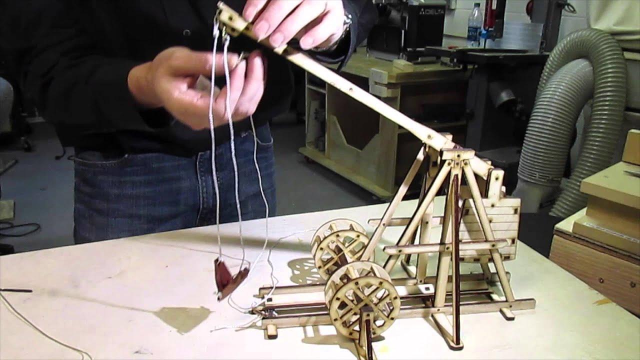 Desktop Trebuchet Prototype