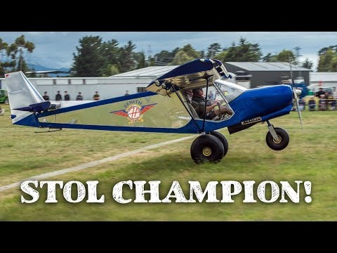 Short take-off and landing (STOL) competition winner