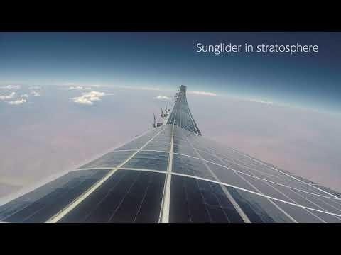 HAPSMobile Sunglider Test Flight Video