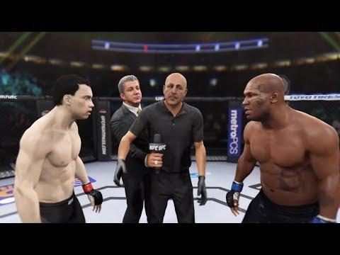 Ip Man vs. 🥊Mike Tyson (EA Sports UFC 2) - CPU vs. CPU