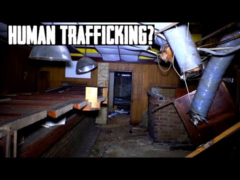 Disturbing Abandoned Strip Club - Human Trafficking Evidence?!
