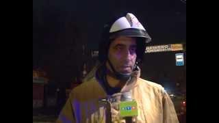 Пожар в Каспийске