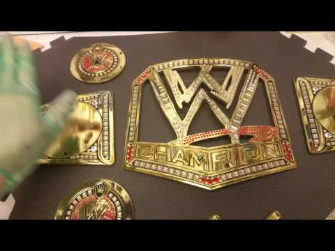 Wrestling Belt Cleaning Guide Part 1