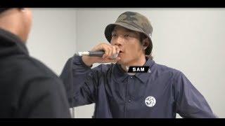 LINE MUSIC × 戦極 ORIGINAL BATTLE BEAT 配信記念SP VOL2 Siva vs SAMQ...