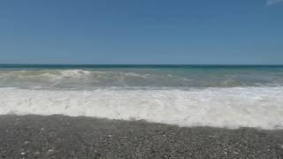 видео Пляж в Старой Гагре