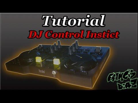 TUTORIAL   Como utilizar DJ Control Instinct ( Hercules )