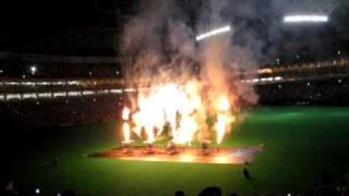 7月20日中日対広島の試合終了後にナゴヤドーム内ですが打ち上げ花火があ...