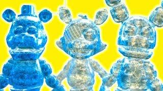 что будет если заморозить аниматроника3 fnaf майнкрафт в реальной жизни видео для детей мультик дети