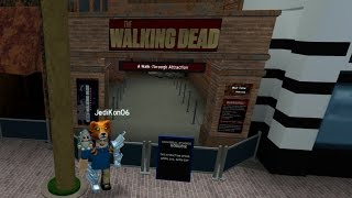 Roblox | Universal Studios | Walking Dead Ride | GRAND OPENING!!!
