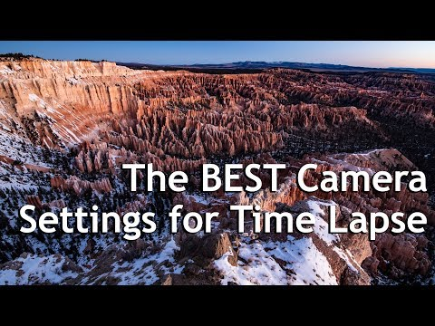 The BEST Camera Settings for Time Lapse: Shooting and Processing