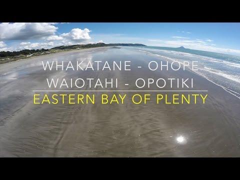 Drone's eye view of the Eastern Bay of Plenty!