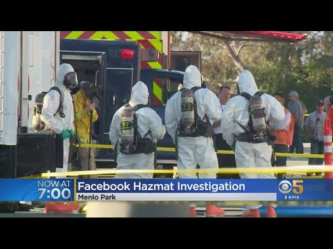 Possible Sarin Gas Detection At Facebook Mail Facility Prompts Hazmat Response In Menlo Park