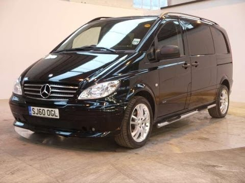 2010 Mercedes Benz Vito Brabus Sport X 3 0 V6 Cdi Black For Sale