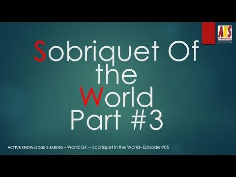 sobriquet part 3