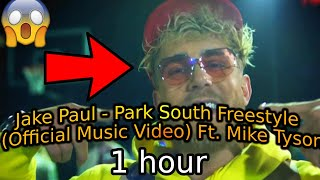 Jake Paul - Pąrk South Freestyle (Official Music Video) Ft. Mike Tyson (1 Hour Version)