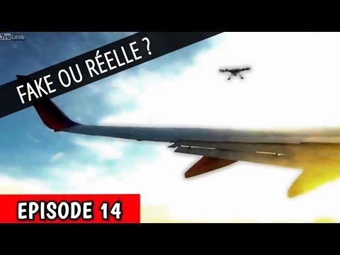 FAKE OU RÉELLE ? - Accident Drone Vs Avion ( EPISODE 14 )