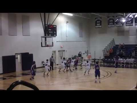 Jae King (#10), #Laurence Manning Gm #2 (8 pts),Point Guard, Class of 2018, Columbia, SC (1st half)