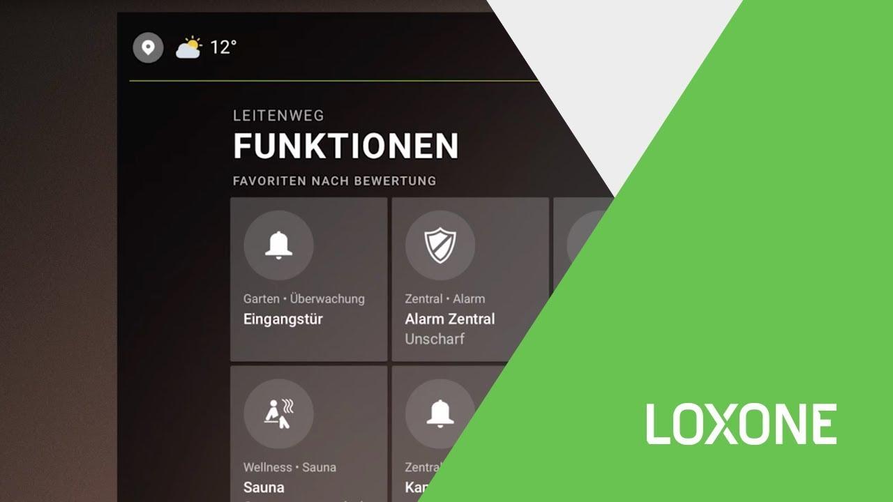 loxone smart home app 9 konzept funktionen erkl rt. Black Bedroom Furniture Sets. Home Design Ideas