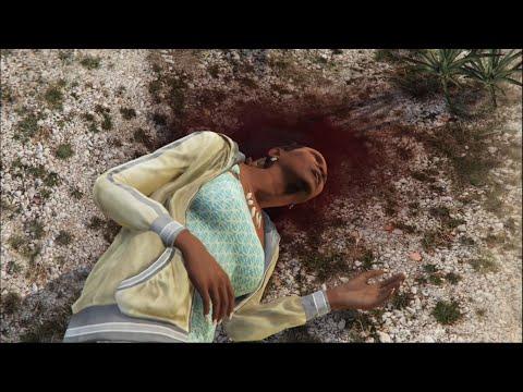 GTA 5 franklin kills his aunt denise