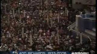 Video Ann Richards-Bush Born with Silver Foot in his Mouth download MP3, 3GP, MP4, WEBM, AVI, FLV November 2018