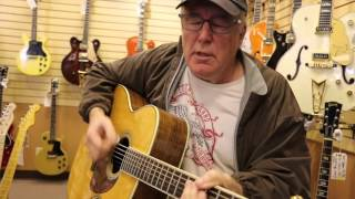 Bill Lynch sings Standing on the Edge of Love at Norman