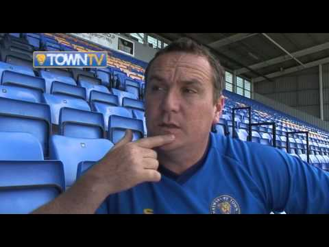 Micky Mellon on Jordan Clark and Andy Robinson signing - Town TV