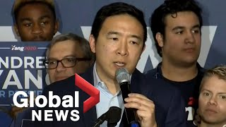 "New Hampshire primary: Andrew Yang ""suspends"" campaign for 2020 presidential bid 