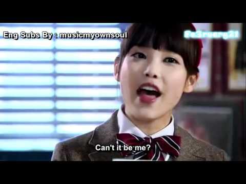 [ENG Subs Dream High] Cant I Love You - Pil-Suk[IU] & Sam-Dong[Soo-Hyun] Cut .avi