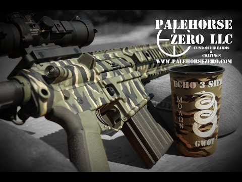 Palehorse Zero - Cerakote Coating Process