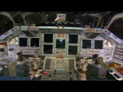 Touring Space Shuttle Endeavour
