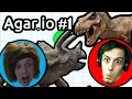 Agar.io With Dinosaurs!! | Featuring BogDan DinoGamer | #1